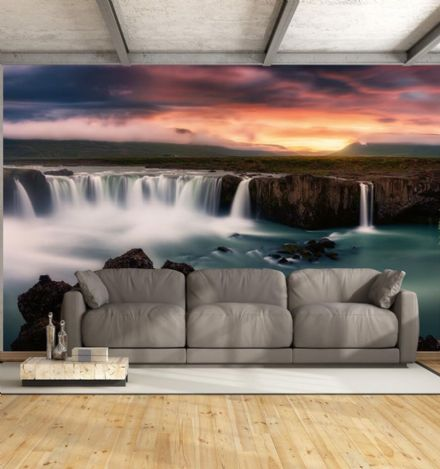 Silky Waterfalls wall mural wallpaper Premium
